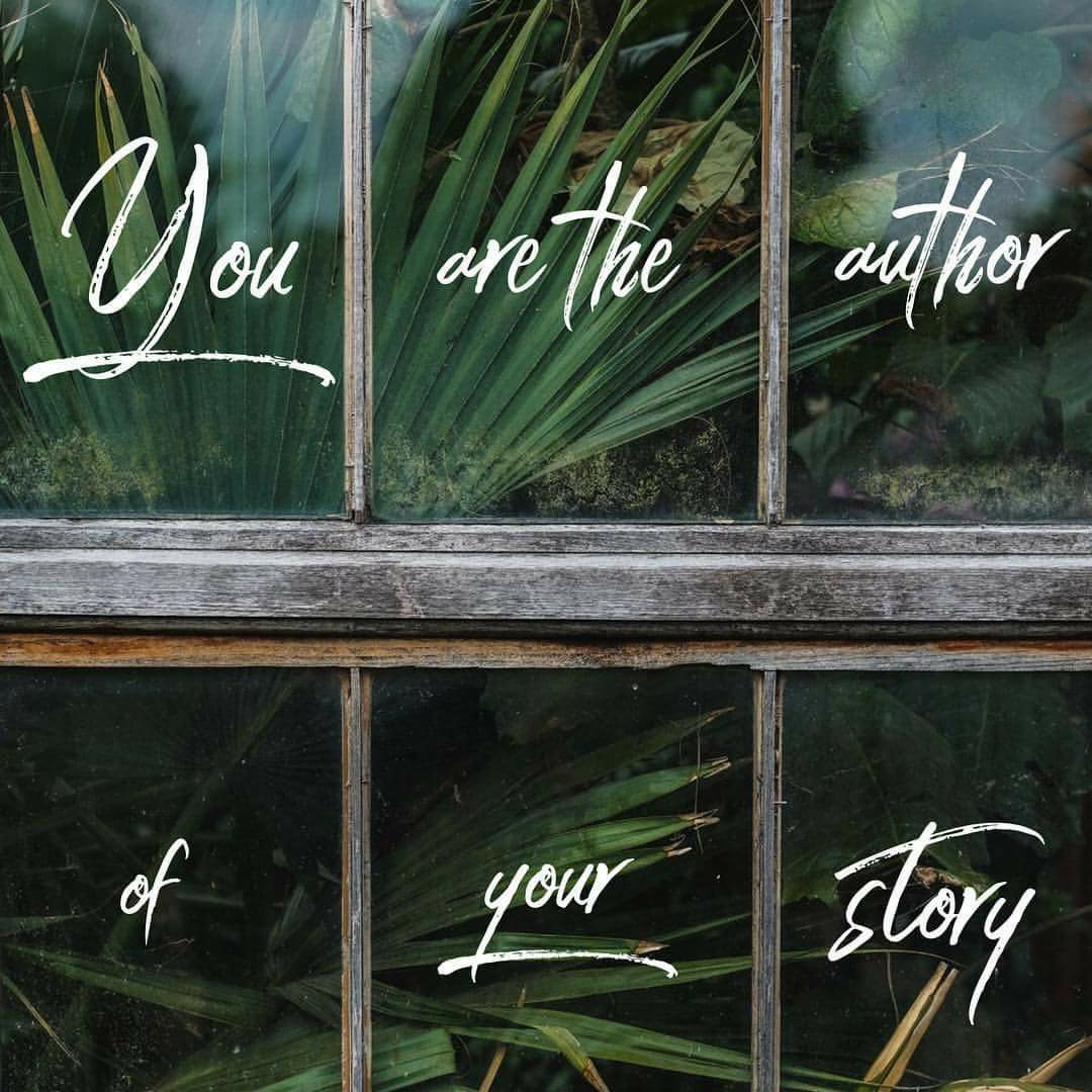 You Are The Author of Your Story — Wheatland Salem Church